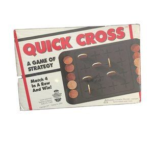 Quick Cross Strategy Game BOARD GAME Great America